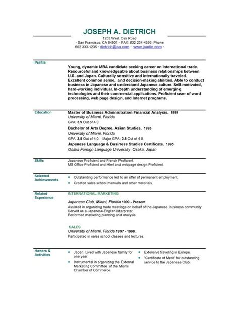 free template for resumes to download executive resumes executive resume sample templates