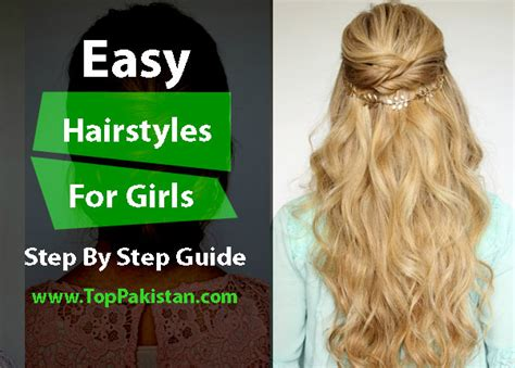 easy hairstyles    home step  step guide top