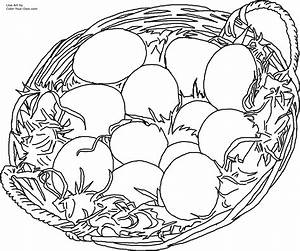 Free coloring pages of nest egg