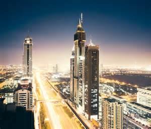 View on Dubai at night - pfnphoto.com – Johannes ...