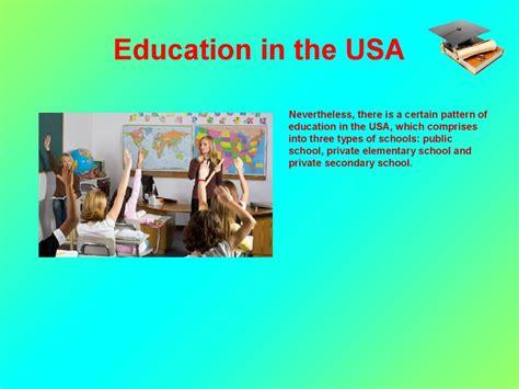 system  education   usa prezentatsiya onlayn