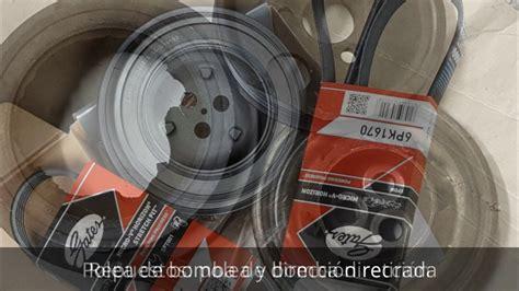 cambiar polea de bomba de direcci 243 n