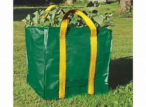 Sac A Dechet Vert : sac de d chets verts r utilisable 252l nortene jardideco ~ Dailycaller-alerts.com Idées de Décoration