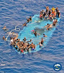 Migrants Crossing The Mediterranean Sea Up By 60 Per Cent