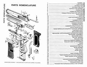 Firing Pin  Roller And Extractor Installation Instructions