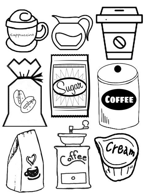 coffee templates shrink art sewing crafts diy shrink