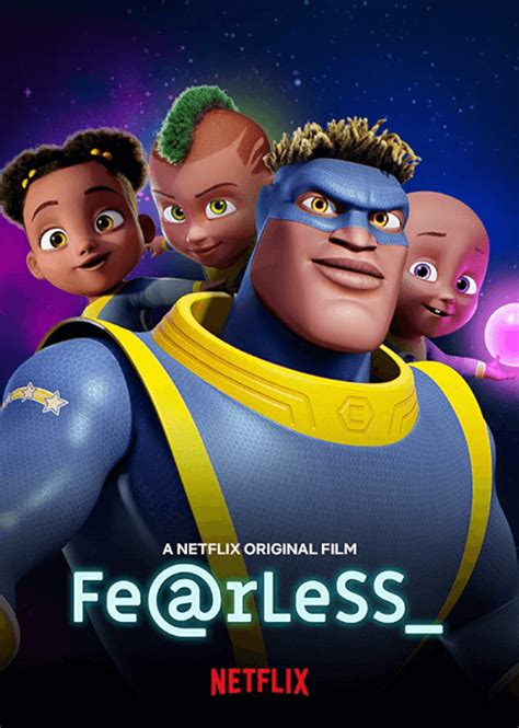 animated superhero original fearless coming  netflix