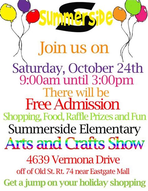 summerside pto craft show west clermont local schools
