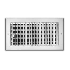 ac vent covers home depot truaire 10 in x 6 in adjustable 1 way wall ceiling register h210vm 10x06 the home depot