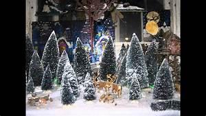 Maison De Noel Miniature : village de no l miniature 2012 de pierre c line youtube ~ Nature-et-papiers.com Idées de Décoration