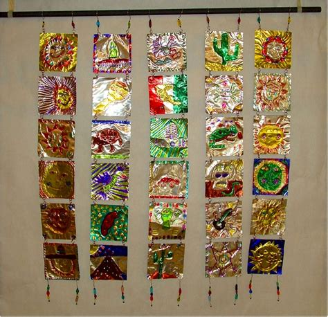 mexican metal tooling lesson plan multicultural art