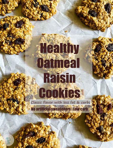 The bananas add moisture (a no sugar added oatmeal raisin cookies. Healthy Oatmeal Raisin Cookies | The Gestational Diabetic ...