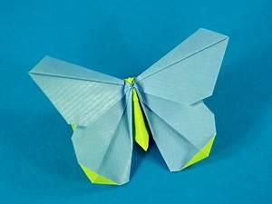 Origami Schmetterling Anleitung : origamido schmetterling tiere origami kunst ~ Frokenaadalensverden.com Haus und Dekorationen