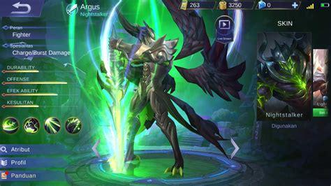 Argus, Build Item Best And Skill