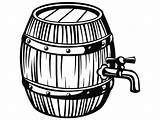 Barrel Keg Clipart Tap Wine Drawing Wooden Beer Pub Bar Svg Tavern Vector Drink Brewing Ale Clipartmag Webstockreview Letter Luxury sketch template