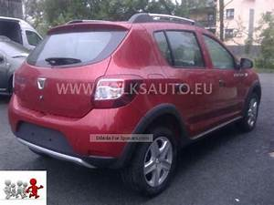 Equipement Dacia Sandero Stepway Prestige : 2012 dacia sandero 0 9 tce 90 ps stepway prestige car photo and specs ~ Gottalentnigeria.com Avis de Voitures