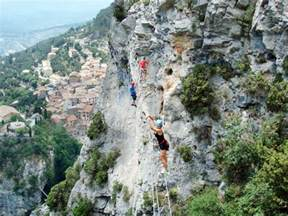 Via Ferrata Peille by Via Ferrata De Peille Peille La Turbie Nice Alpes