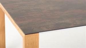 Esstisch Mit Keramikplatte Ausziehbar : esstisch ottilius keramik oxido flame wildeiche b 210 280 cm l 95 cm h 75 cm schubiger m bel ~ Indierocktalk.com Haus und Dekorationen