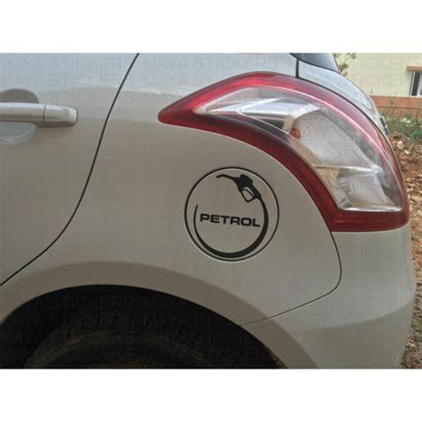 Unique Petrol Fuel Cap Sticker / Decal For All Petrol Cars
