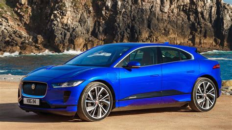 Blue Car Wallpaper by Jaguar Ipace Blue Car Hd Wallpapers
