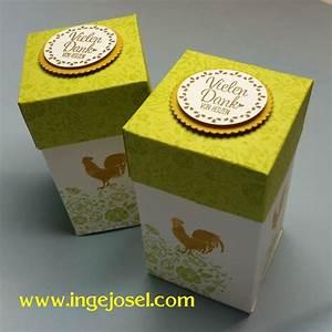 Box Selber Basteln : box einfach selbst gemacht mit dem neuen stempelset ~ Lizthompson.info Haus und Dekorationen