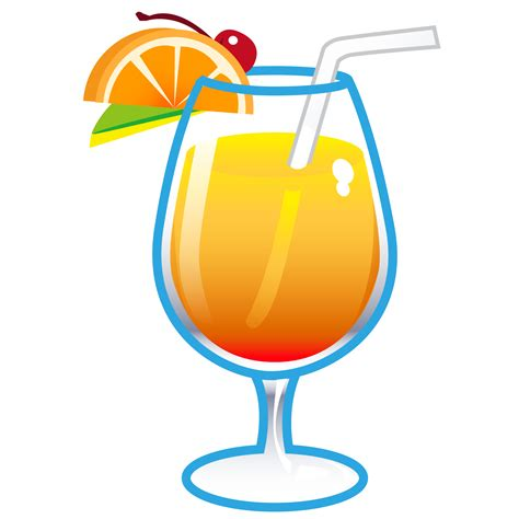 Drinks Clipart Tropical Drink Clipart Free Clip