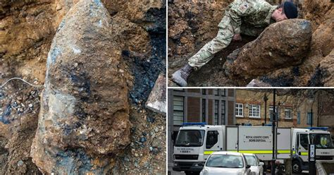 First Pictures Of 5ft Unexploded Device