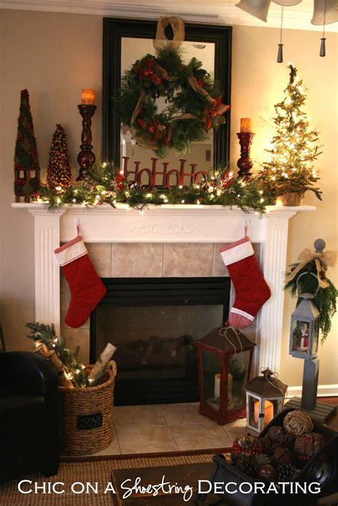 christmas mantel decoration ideas  designs