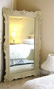 Grand Miroir Vintage : comment d corer avec le grand miroir ancien id es en photos ~ Teatrodelosmanantiales.com Idées de Décoration