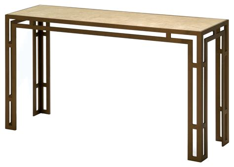 console table with bench table console oliver consoled tables medium bronze finish