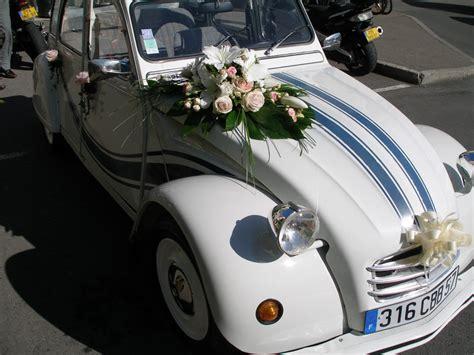 fleuriste decoration voiture mariage fleurs mariage d 233 cors voiture vatry fleuriste