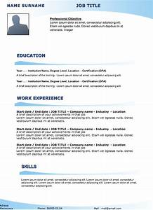 cv original 27 curriculum vitae With free original resume templates