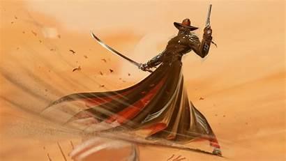 Steel Wii Artwork Cowboy Nintendo Blade Swords