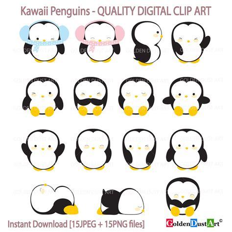 Kawaii Clipart by Penguin Clipart Kawaii Penguins Clipart Penguins