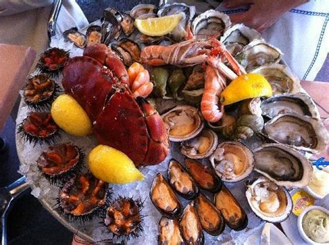 cfa cuisine marseille superbe et excellent plateau de fruits de mer picture of