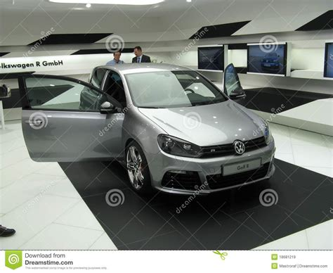 2018 Volkswagen Golf R Editorial Stock Image Image 18681219