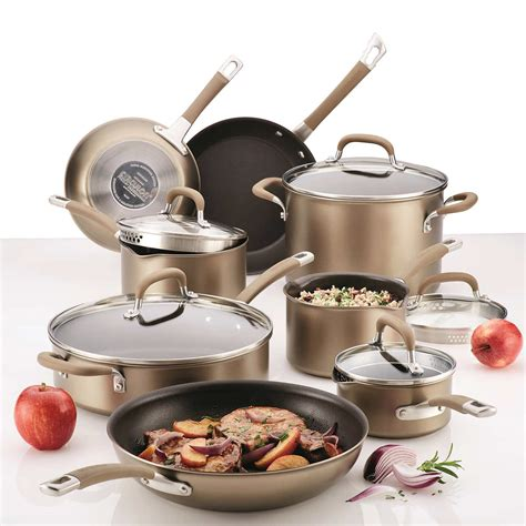 cookware circulon professional premier nonstick piece anodized hard description