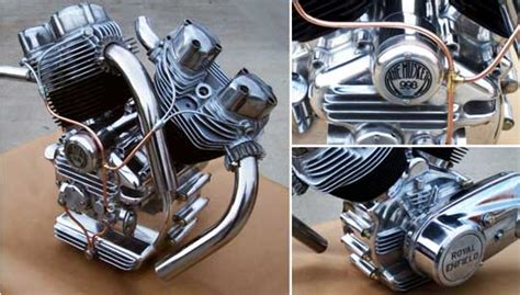 The All New 998 Cc Musket V-twin Engine At Cyril Huze Post