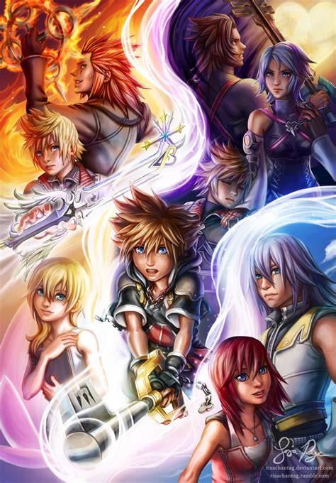 Kingdom Hearts Light By Risachantag On Deviantart