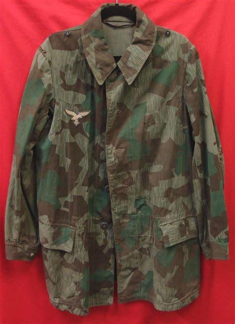 sold ww german luftwaffe paratrooper jacket pants