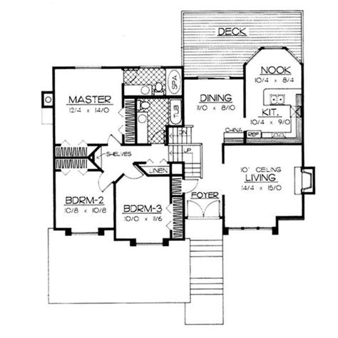 tri level floor plans split level house designs the plan collection