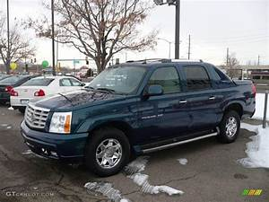 2005 Rip Tide Blue Cadillac Escalade Ext Awd  24318290