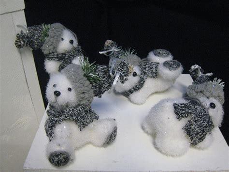 lot 4 ours polaire t 15cm g126 07694 no 235 l pas cher d 233 coration de no 235 l pas cher discount