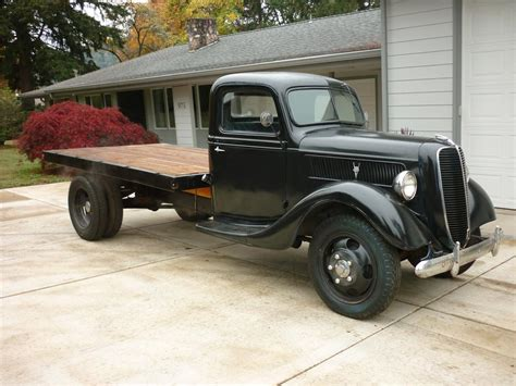 1937 Ford Pickup Truck Flatbed