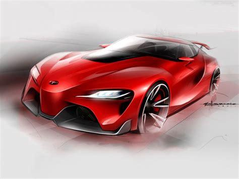 toyota ft  concept car body design