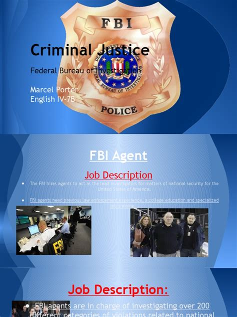 Use these free templates or examples to create the perfect professional document or project! fbi powerpoint done   Special Agent   Federal Bureau Of ...