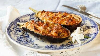 aubergines farcies gratinees recette legumes