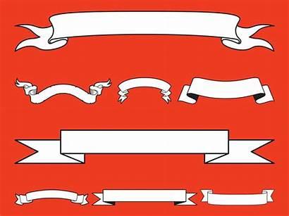 Banner Ribbon Clip Vector Cliparts Clipart Scroll