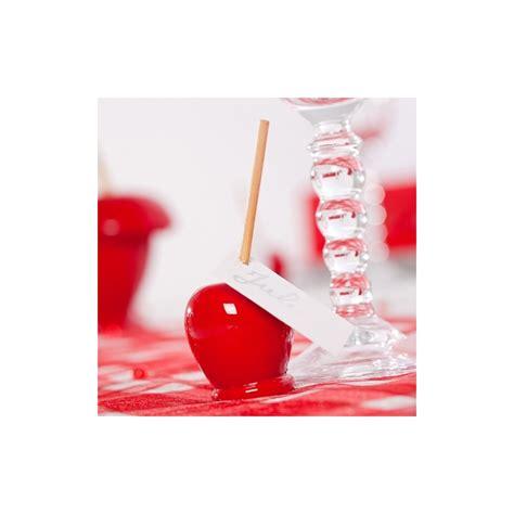 pommes d amour marque places x12 blanc maplusbelledeco