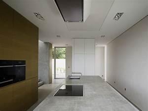 Küche Beton Arbeitsplatte : puristische k che mit beton arbeitsplatte ~ Frokenaadalensverden.com Haus und Dekorationen